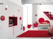 camere romantiche rosse