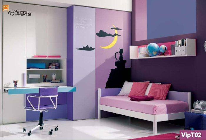 Camerette a terra classiche e moderne - Camere da letto per ragazze moderne ...