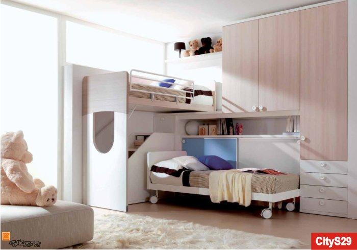 Camerette a soppalco a milano e in lombardia - Soppalchi per camere da letto ...